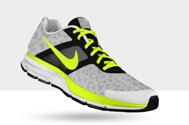 NikeID Store by I Love Sneakers: Nike Air Pegasus 30 black and fluo