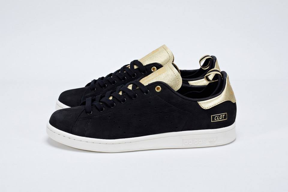 adidas stan smith nere camoscio