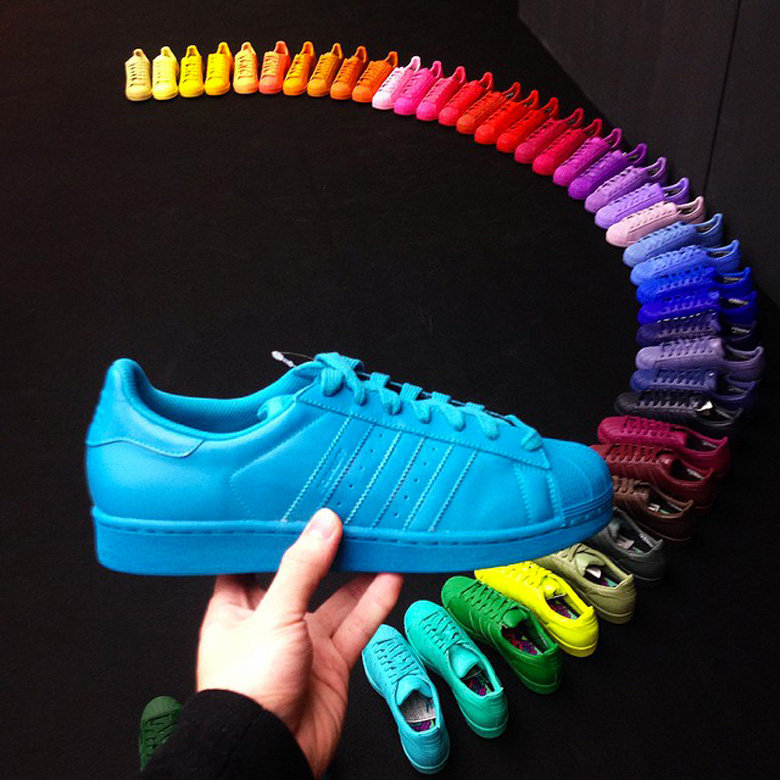 adidas superstar limited edition colore