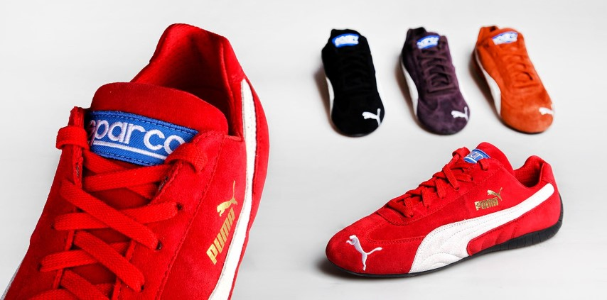 puma sneakers 2015 capsule collection sparco speed cat. Black Bedroom Furniture Sets. Home Design Ideas