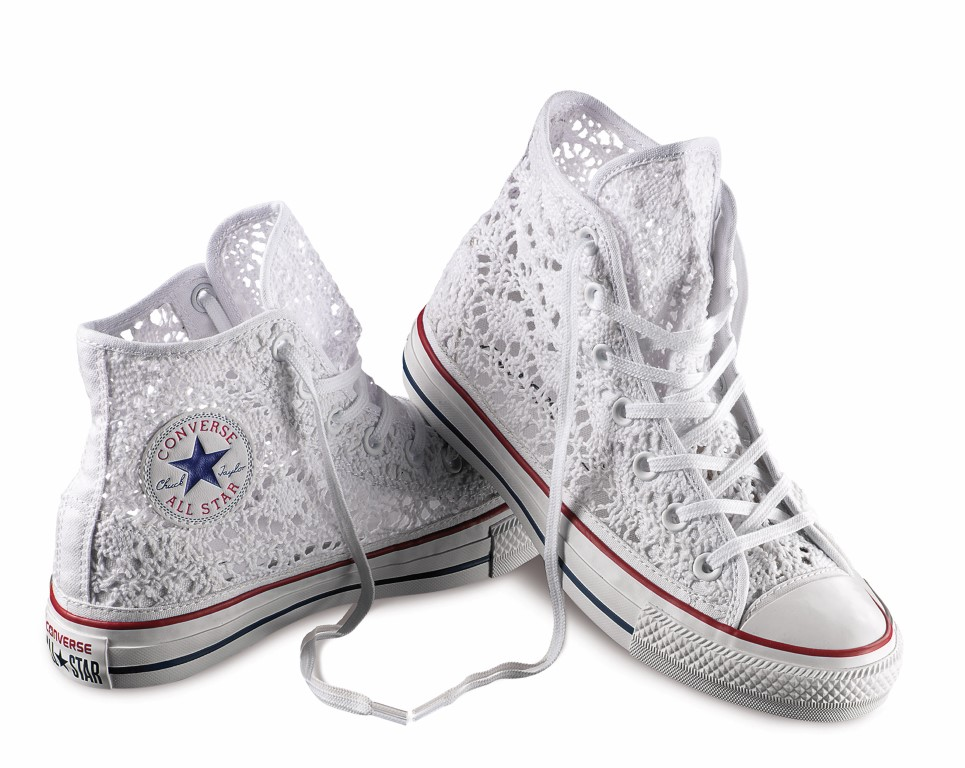 all star alte con brillantini